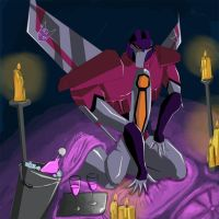 romantic starscream by Rukvaja