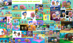 Bubble Guppies- Molly and Gil by bigpurplemuppet99