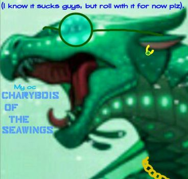 Charybdis of the Seawings by TheDragonElemental