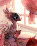 Morning tea by fancypigeon
