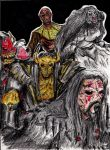 Lordi: Hard Rock Monsters by hewhowalksdeath