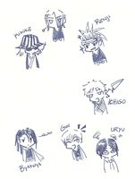 BLEACH CHIBI by Artzangel