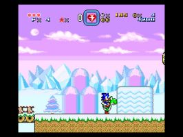 Sonic For Snes SMW HACK:Preview 2 Sonic and Yoshi by ClassicSonicSatAm