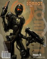 Zombie Robots Cover by Dstolpmann