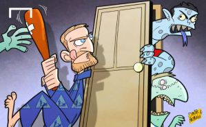 De Rossi not afraid of monsters Messi and Ronaldo by OmarMomani