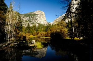 Tenaya Creek Yosemite Valley by kayaksailor