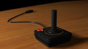 ATARI 2600 JOYSTICK 3D MODEL by bluespartan10