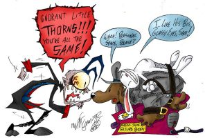Sam and Max vs. JtHM by FractiousLemon