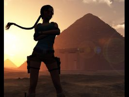 Lara croft et l'egypte by Croft094