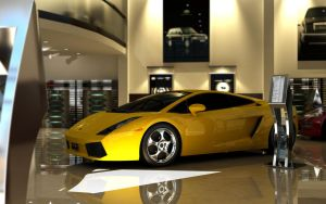 Lambo in a show by a1future
