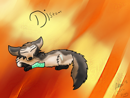 Distant! Art Trade! by NoodleSuperPot