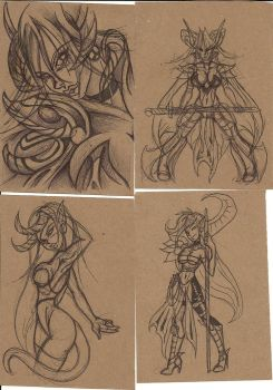 Just some doodles... by JenniferLee26