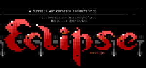 Eclipse ANSI Logo by Roy by roy-sac