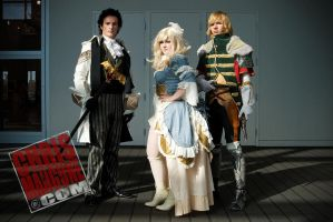 Granado Espada Family by UxiCosplay