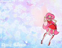 Amy Winx: Wallpaper by icefatal