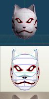 Kakashi - Anbu Mask by Lyrin-83