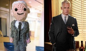 Amigurumi Mad Men: Roger by smapte