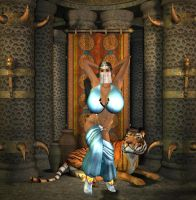 Princess Jasmine, Take One by Chup-at-Cabra
