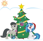 Octavia And Vinyl Scratch's Christmas! by Phoenix0117
