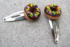 Donut Clips by SarahRose