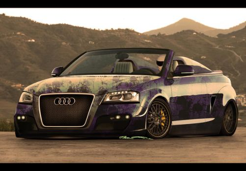 Audi A3 'Urban Soldier' by enth3os