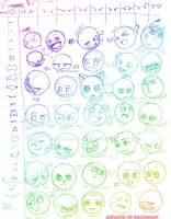 Expressions chart by Mihoshi-TD