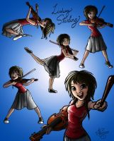 Lindsey Stirling! by boolengleng