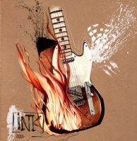 Frets on Fire redux by inkfloyd