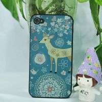 love-of-nature-deer-iphone4-4s-case by tracylopez