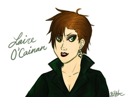 Laire O'Cainan by thekyrianne