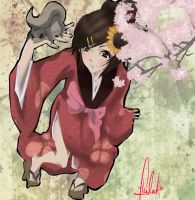 Samurai Champloo : Fuu by CaptainHemlock