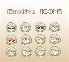 Emotive icons by UserFall