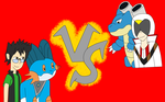 Battle of the Water Starter by Dracoknight545