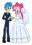 Rob Stallion and Pinkie tie the knot by edCOM02