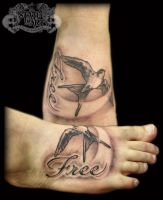 Free Bird by state-of-art-tattoo