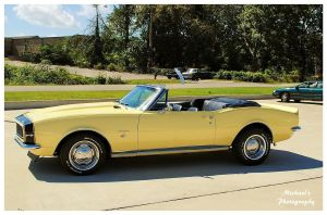 A 1967 Camaro RS Convertible by TheMan268