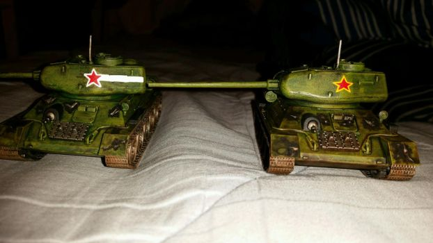 Bolt Action Armored Platoon WIP by Ryuondo