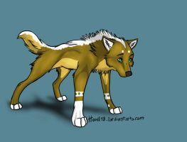Wolf Adoptable -TAKEN- by BlueFang-Adoptables