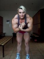 New Muscle Girl Generation 40 by DarkSoniti