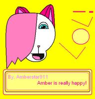 Amber is really happy by Amberstar911