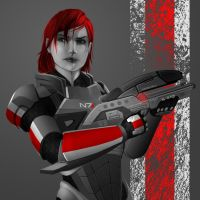Shepard M8 by calicoJill