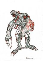 Zombies by MARKCW