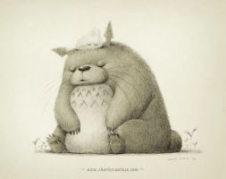 Totoro Tribute by minitreehouse