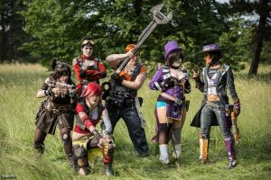 Borderlands Crew Dokomi 2014 by take7x