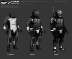 Axeron-recruits variants by FutureFavorite