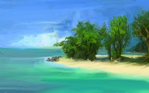 WIP - Tropical Colors by arf73