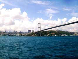 Bosphorus Bridge by CourageMyLove