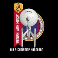 New USS Christine Hoagland Logos by starshipdriver