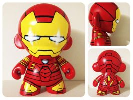Iron Man Mark IV Munny by hoocky