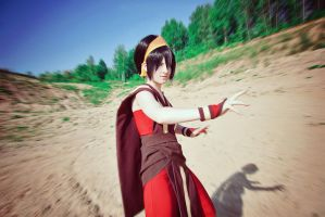 Toph Bei Fong - Picking up a fight ! by Melonl0rd